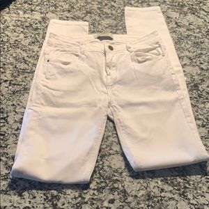 Zara Trafaluc White Jeans Size 4